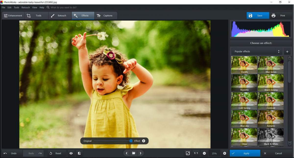 AMS-Software-PhotoWorks screen